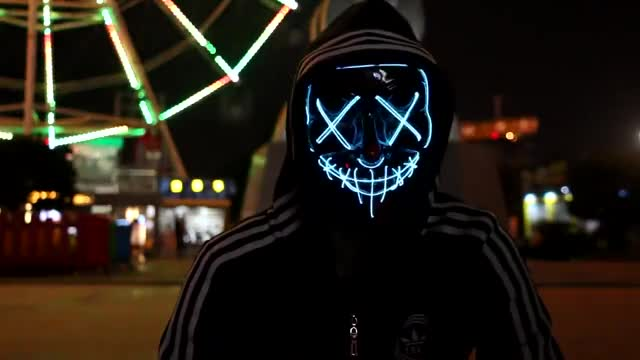 Watch and share LED Mask GIFs on Gfycat