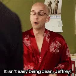 Watch and share Craig Pelton GIFs and Dean Pelton GIFs on Gfycat