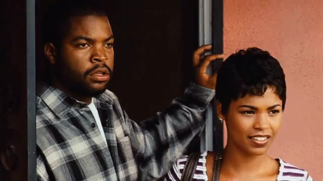 Ice Cube has so many great WTF faces in Friday.