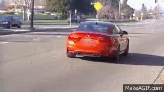 Watch and share BMW M4 Crash @ CARS & COFFEE Blackhawk 2015 GIFs on Gfycat