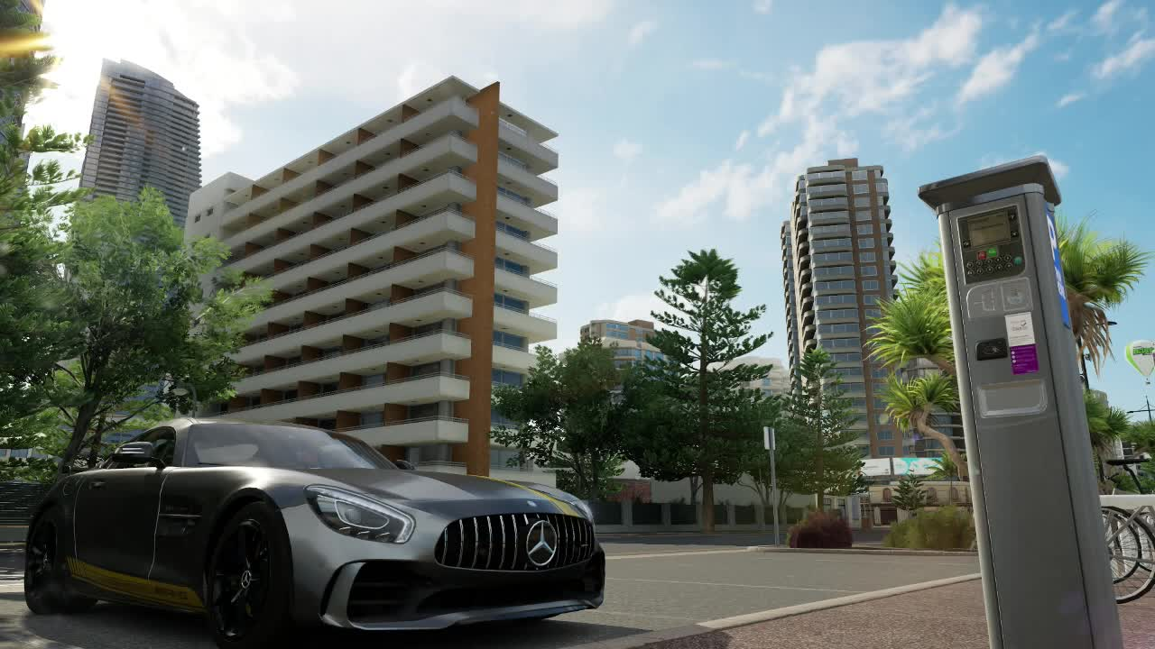cars, forza, mercedes, Timelapse GIFs