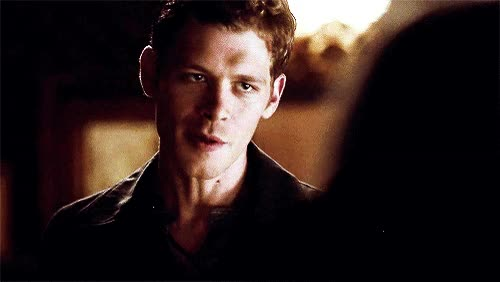 Watch and share Klaus Mikaelson Joseph Morgan Gif GIFs on Gfycat