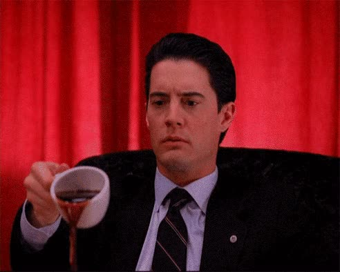 Watch and share Twin Peaks Coffee Spill GIFs on Gfycat