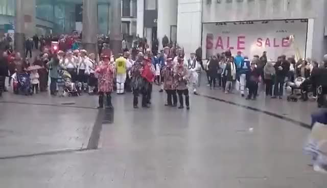 Watch Morris Dancers Birmingham GIF on Gfycat. Discover more related GIFs on Gfycat