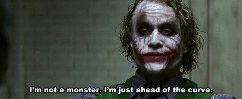 Heath Ledger, wallstreetbets, /r/wsb visits /r/investing during a correction (reddit) GIFs