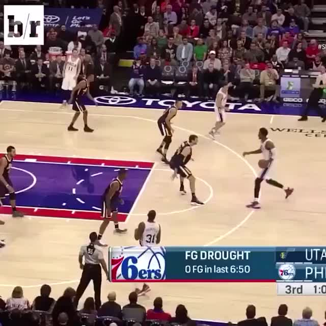 Watch and share Olajuwon Overlayed On Embiid Highlight GIFs on Gfycat
