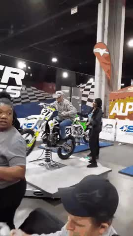 Watch and share Virtual Motocross GIFs by longshanks on Gfycat