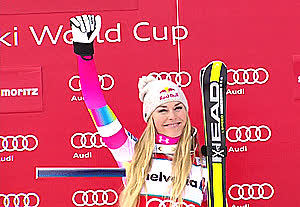 lindsey vonn, As GIFs