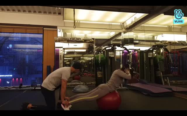 Watch and share Hyolin-workout GIFs on Gfycat