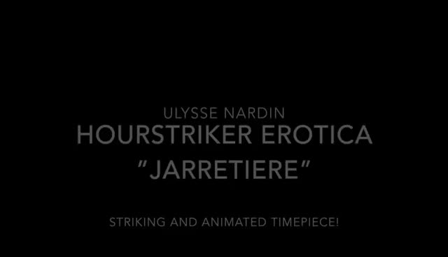Watch Ulysse Nardin Hourstriker Erotica Jarretiere GIF on Gfycat. Discover more related GIFs on Gfycat