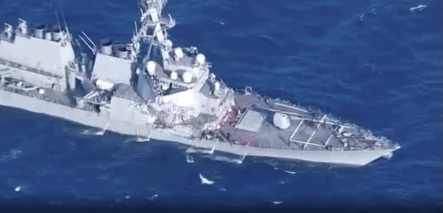 Watch uss fitzgerald GIF by @alexjlockie on Gfycat. Discover more related GIFs on Gfycat