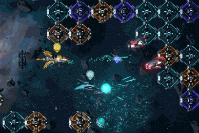 gamedev, games, playmygame, Galacide Phase Ship Charge Shot GIFs