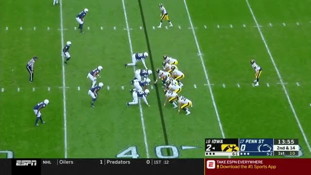 Watch and share Hock1 (down Seam, Good Hands-grab; Fighting For Xtra YAC - Fumble) GIFs by Ryan on Gfycat