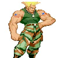 Watch and share Guile Stance GIFs on Gfycat