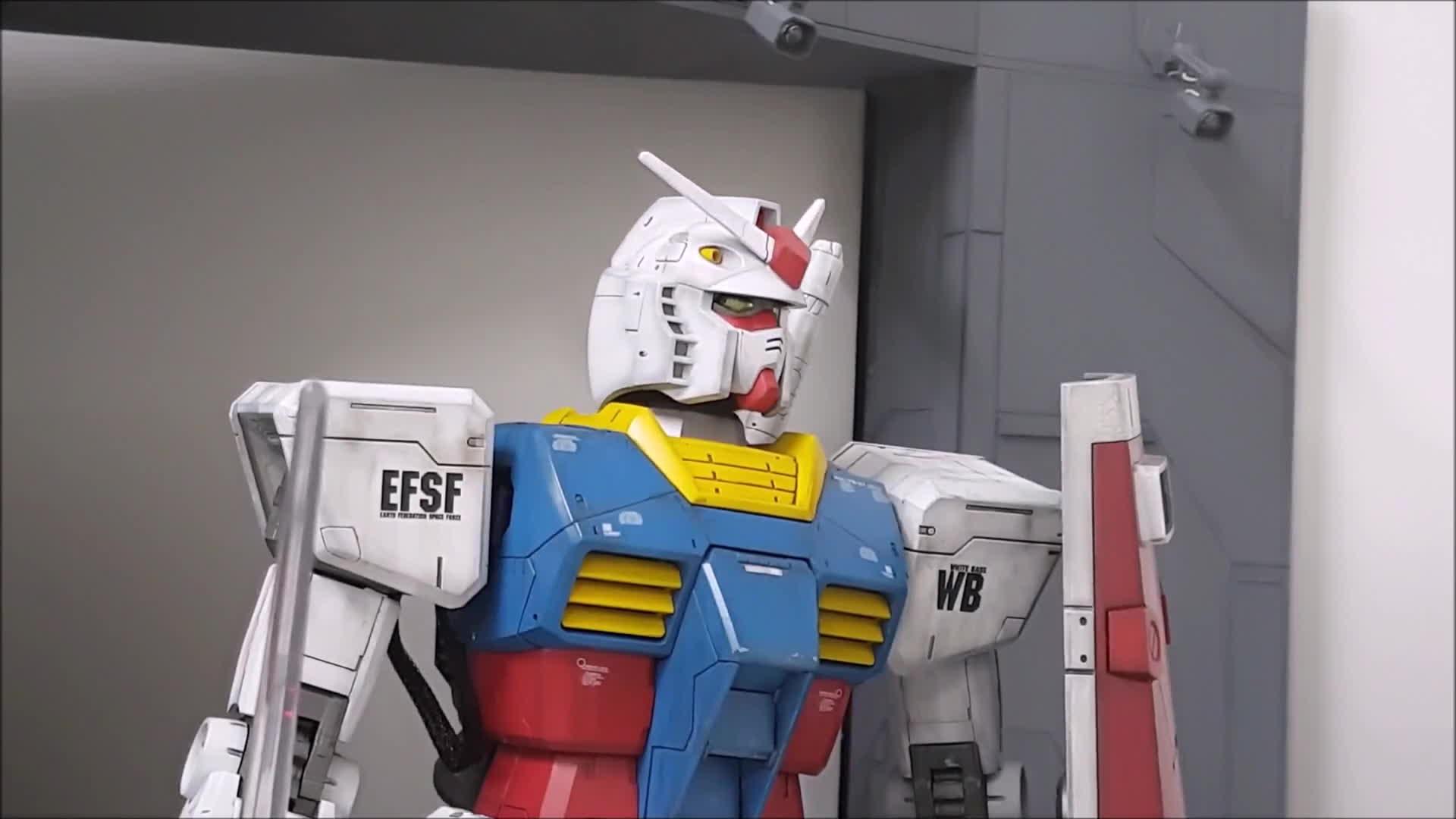 Moving Gunpla : Gundam GIFs