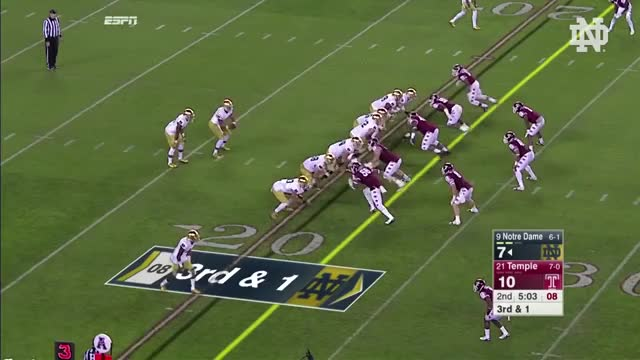 Watch and share Notre Dame GIFs and Football GIFs on Gfycat