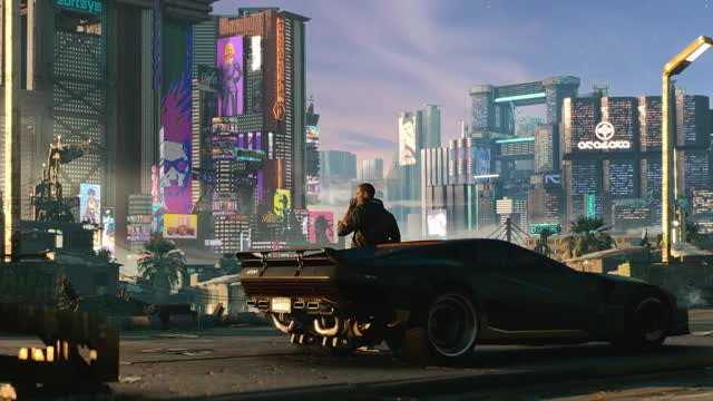Watch Cyberpunk-2077-Live-Wallpaper GIF on Gfycat. Discover more related GIFs on Gfycat