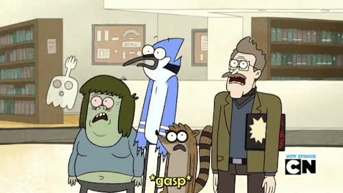 Watch Gummie Bunnies Anonymous GIF on Gfycat. Discover more archie the archivist, benson, format wars II, gif, high-five ghost, lol sorry this was tagged wrong, mordecai, muscle man, regular show, rigby GIFs on Gfycat