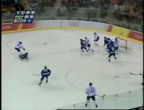 Suomi - Ruotsi Torino 2006 Ottelun viime hetket GIFs