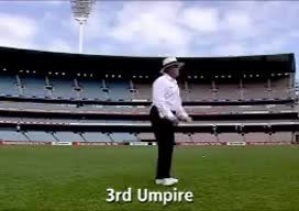 Watch and share Cricket Umpire Signals GIFs on Gfycat