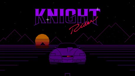 The Knight Rider [OC][CC] : PixelArt GIFs