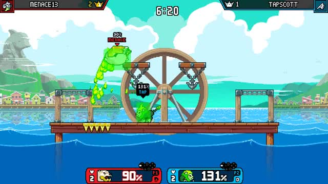 Watch and share Rivals Of Aether GIFs and Zetterburn GIFs by Menace13 on Gfycat