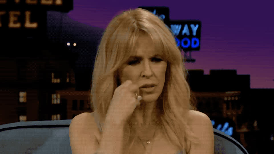 about, annoyed, confused, confusion, corden, hmm, it, james, kylie, late, minogue, night, show, think, thinking, uncertain, worried, worry, Kylie is confused GIFs