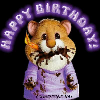 Watch and share Happy Birthday Mouse GIFs on Gfycat