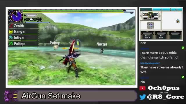 Watch [MHGen//Stream]Flashbomb Surprise GIF on Gfycat. Discover more Brachydios, Flashbomb, Generations, Hunter, Monster, Monster Hunter, Monster Hunter Generations, Monster Hunter X GIFs on Gfycat