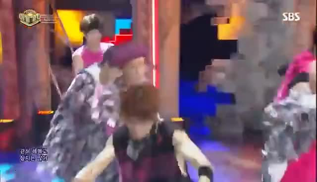 Watch and share 《Comeback Special》 NCT 127 - Cherry Bomb @인기가요 Inkigayo 20170618 GIFs on Gfycat