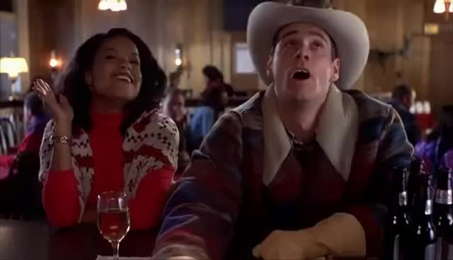 Watch and share Dumb & Dumber - Bar Scene, Waiting For Mary. GIFs on Gfycat