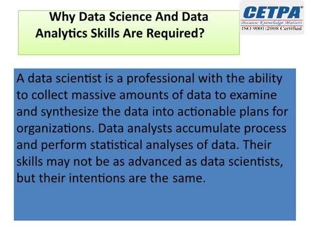 Watch and share Why Data Science And Data Analytics Skills Are Required? GIFs by cetpainfotech on Gfycat
