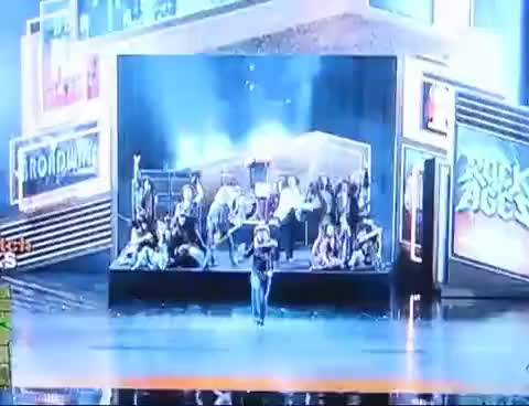 Watch and share Bret Michaels At Tony Awards GIFs on Gfycat