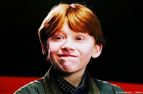 Watch and share Rupert Grint GIFs on Gfycat