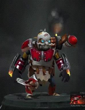 dota2, Mortar Forge Steam Exoskeleton GIFs