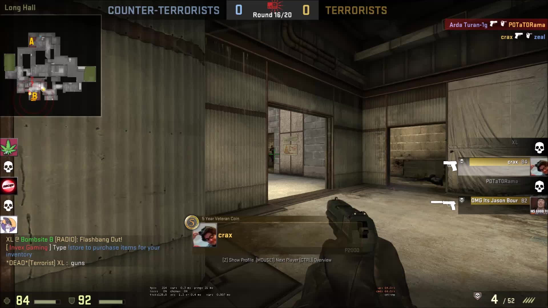 GlobalOffensive, therewasanattempt, Guy on a retakes server gets CSGO'd (reddit) GIFs