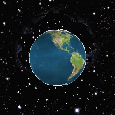 Watch and share Rotating Planet Earth GIFs on Gfycat