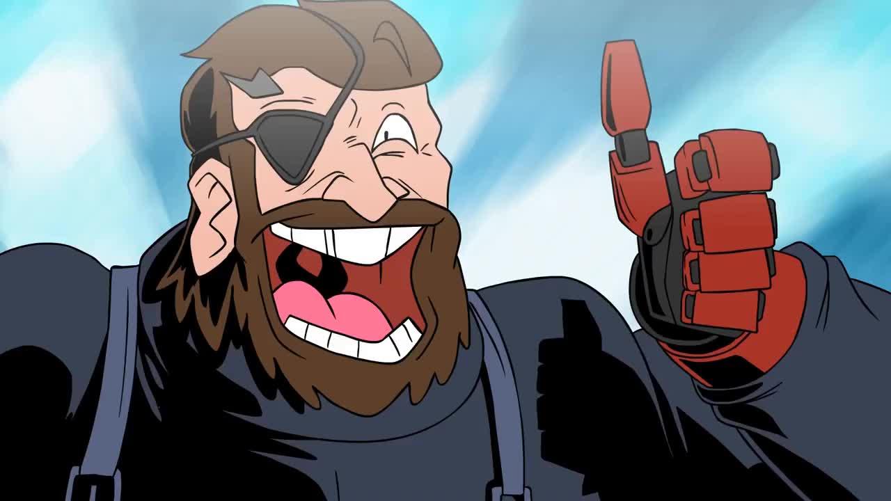 God Mode - Metal Gear Solid V: The Phantom Pain GIFs