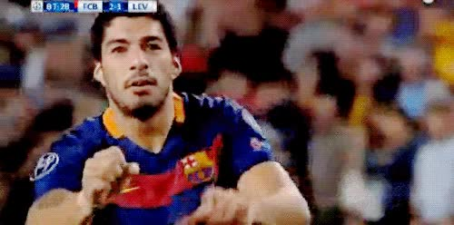 Watch and share Luis Suarez GIFs on Gfycat