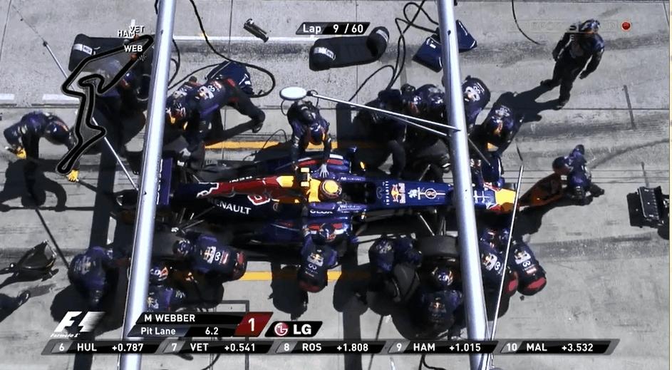 HighlightGIFS, Tiresaretheenemy, highlightgifs, Webber's tyre hits a camera man GIFs