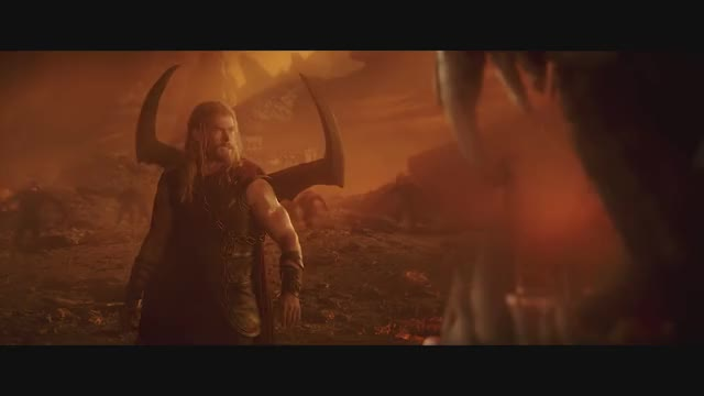 Watch and share Thor Vs Surtur GIFs and Thor Ragnarok GIFs by sage6paths on Gfycat