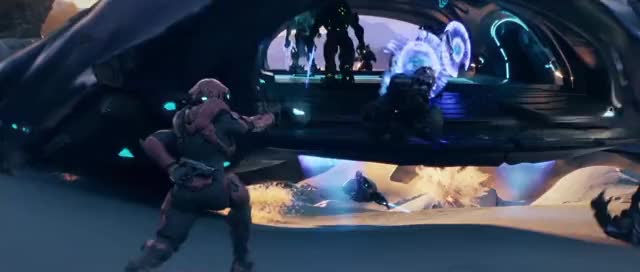 Watch Halo5 Opening Cinematic - 3 GIF by Jasveer S (@jasveersin) on Gfycat. Discover more related GIFs on Gfycat