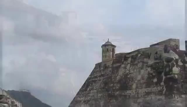 Watch and share Castillo De San Felipe De Barajas. Cartagena, Colombia GIFs on Gfycat
