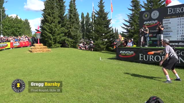 Watch European Open 2017 Top 10 Shots GIF by Ultiworld Disc Golf (@ultiworlddg) on Gfycat. Discover more best shots, dgwt, disc golf world tour, eo2017, european open, finland, nokia, suomi, the beast, top 10 shots GIFs on Gfycat
