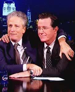 Watch colbert stewart GIF on Gfycat. Discover more jon stewart, stephen colbert GIFs on Gfycat