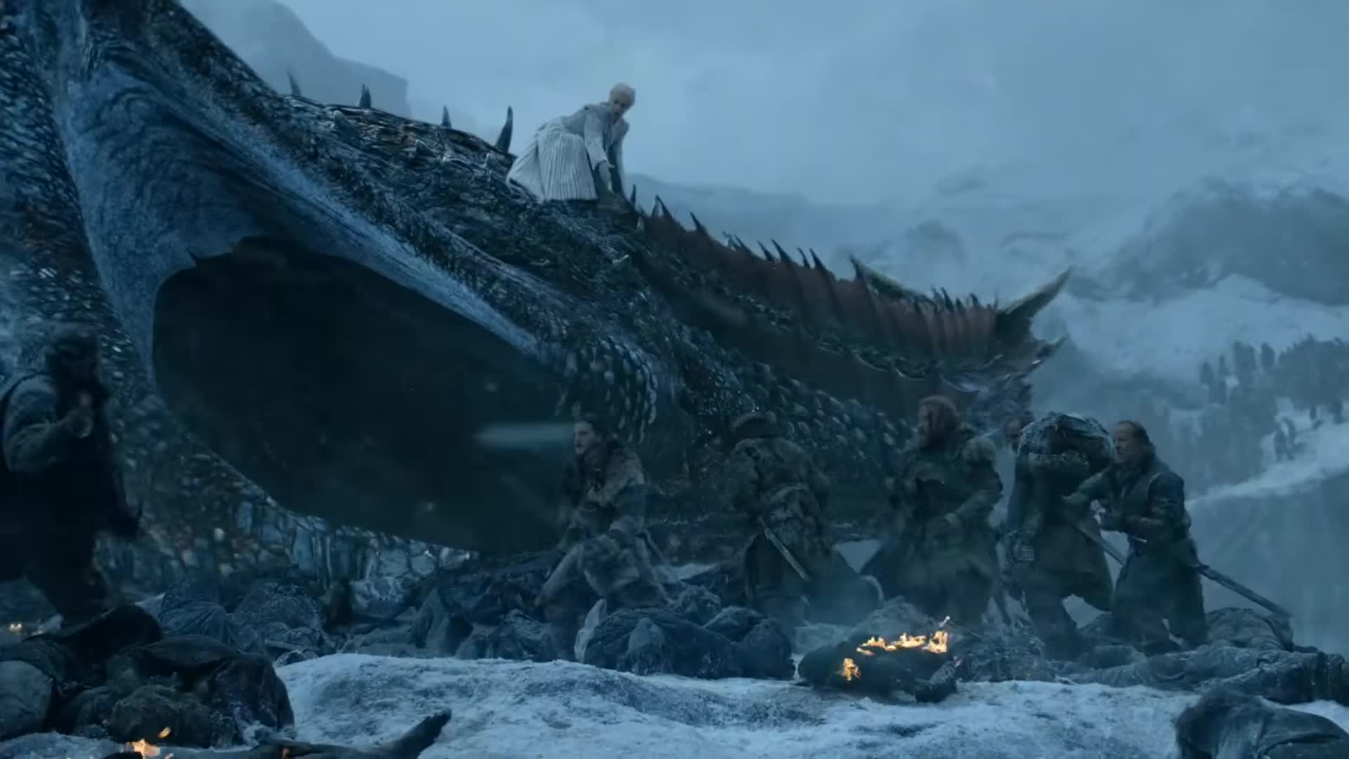 Game Of Thrones Season 7 Episode 6 Beyond The Wall The Frozen