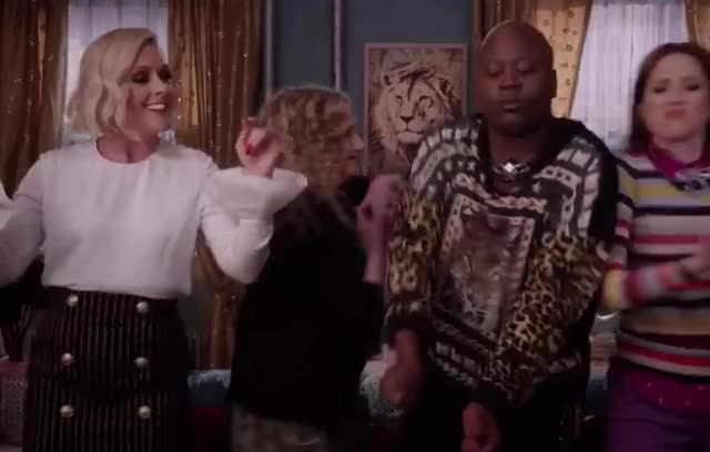Watch this dancing GIF by GIF Machine (@gifmachine) on Gfycat. Discover more awesome, best, bff, boy, celebrate, company, crazy, dance, dancing, drunk, enjoy, epic, friends, kimmy, magic, netflix, party, schmidt, titus, unbreakable GIFs on Gfycat