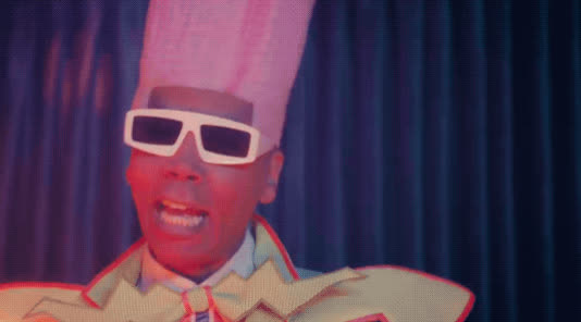cackling, dem beats, funny, laughing, lol, rupaul, todrick hall, Dem Beats (ft. RuPaul) by TODRICK HALL GIFs