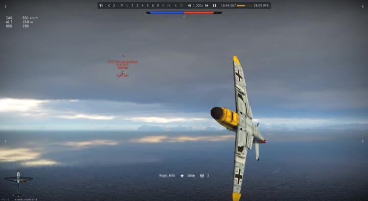 Warthunder, dogfight, War Thunder 1v1 GIFs