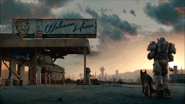 Watch and share Fallout GIFs and Live GIFs by elr0y7 on Gfycat
